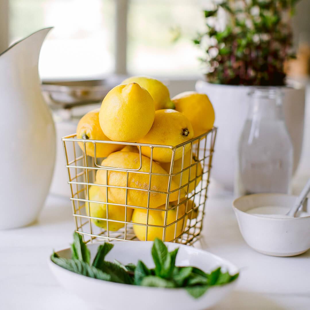 Ricola Zitronene Minz Sorbet Rezept - Step  1