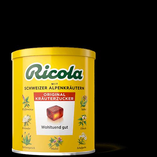 Ricola Kräuter Original - mit und ohne Zucker
