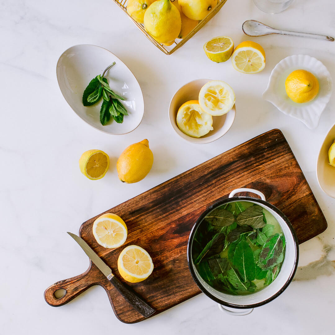 Ricola Zitronene Minz Sorbet Rezept - Step  6