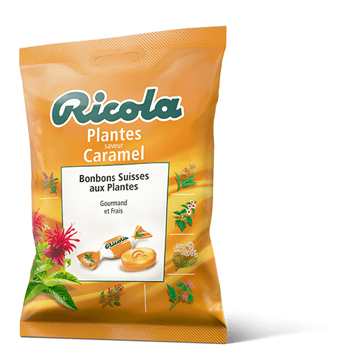 Ricola Plantes saveur Caramel