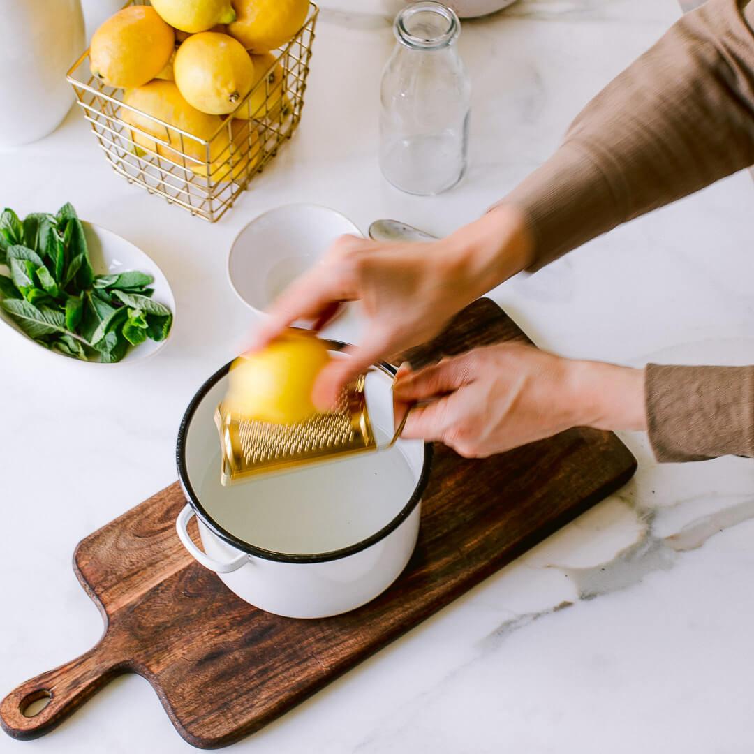 Ricola Zitronene Minz Sorbet Rezept - Step  4