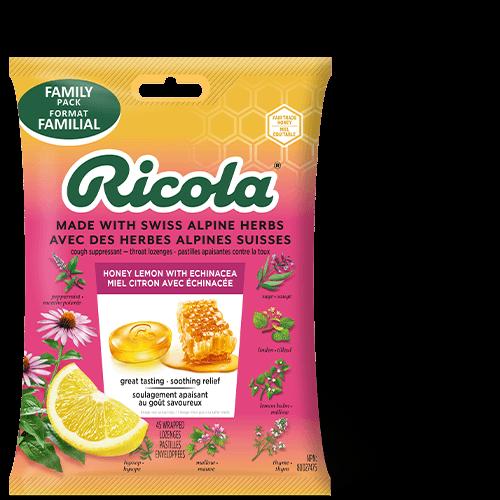 Ricola Honey Lemon with Echinacea