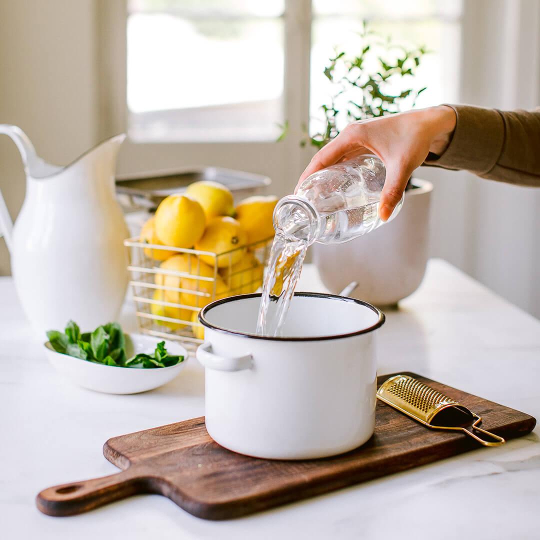Ricola Zitronene Minz Sorbet Rezept - Step  2